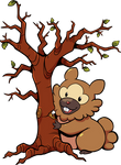 Bidoof Used Cut by TamarinFrog