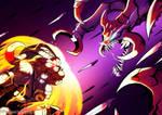 League Of Legends Battle by TamarinFrog