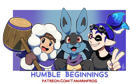Patreon Goal - Humble Beginnings