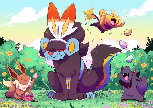 Commission - Easter Hunt