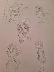 Small Sorrel Doodles