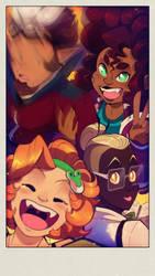 Surprise Team Sweet Citrus Wonder Selfie!