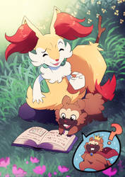 Commission - Any Tales About Bidoof?