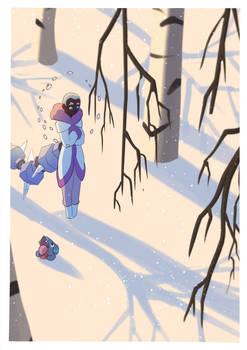 HL - Snowy Shadows