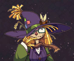 Spooky Scarecrow Self