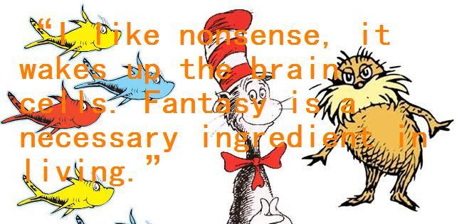 Dr. Seuss Quote by crimenationlove