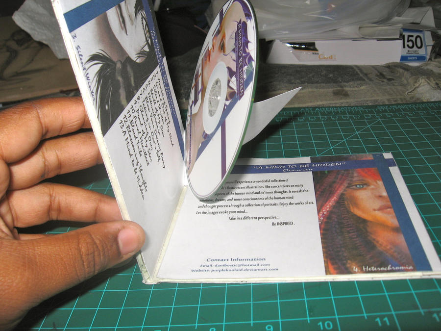 how to make a cd case cover