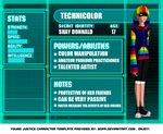 Young Justice OC: Shay profile