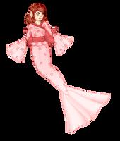 Sabi the Kimono Fish by AxxKat
