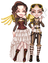 Steampunk Ball Collab! by AxxKat