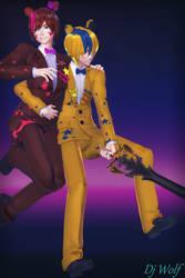 (MMD) : Battle Pose Poster(DL )