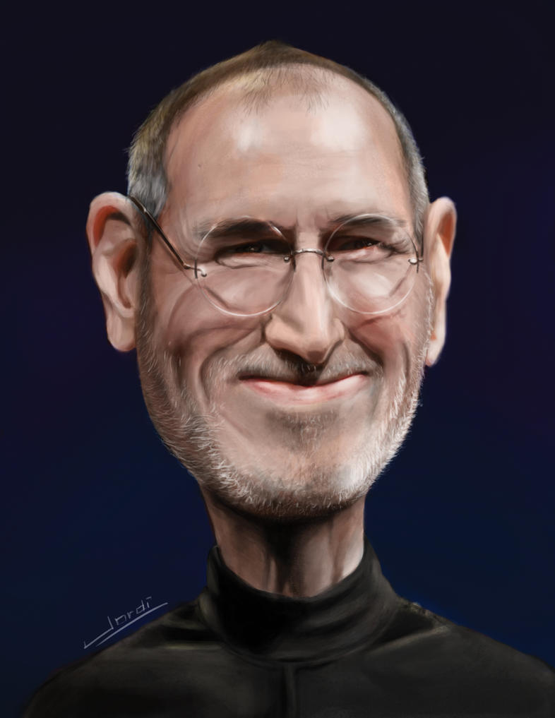 Steve Jobs by xjordi360