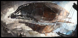 Pirates airship