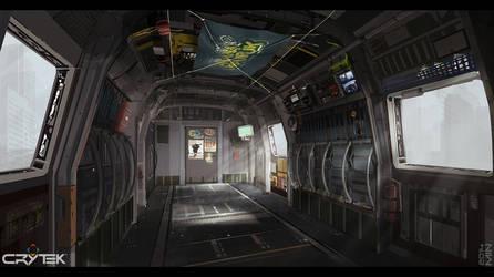 Chinook interior by Min-Nguen