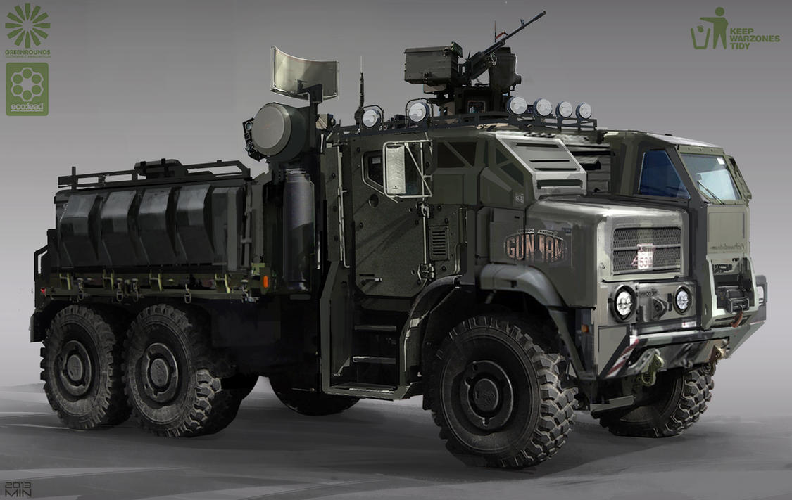 Armored Warfare Truck Bed Hitbox