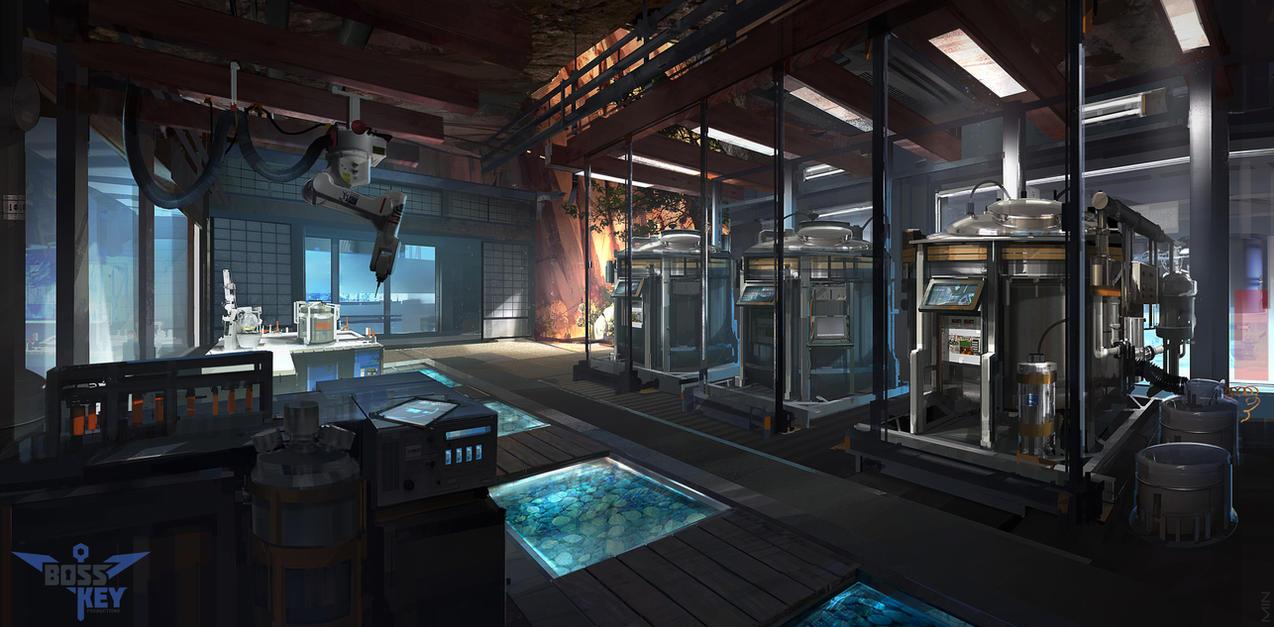 Future Concept Home Kitchen