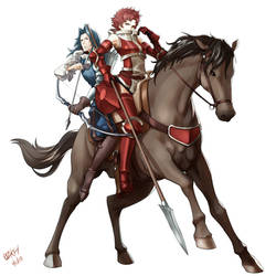 Fire Emblem: Sully and Virion