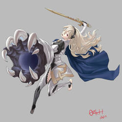 Fire Emblem: Female Corrin by ozkh