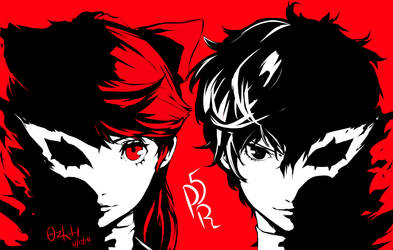 Persona 5 The Royal by ozkh