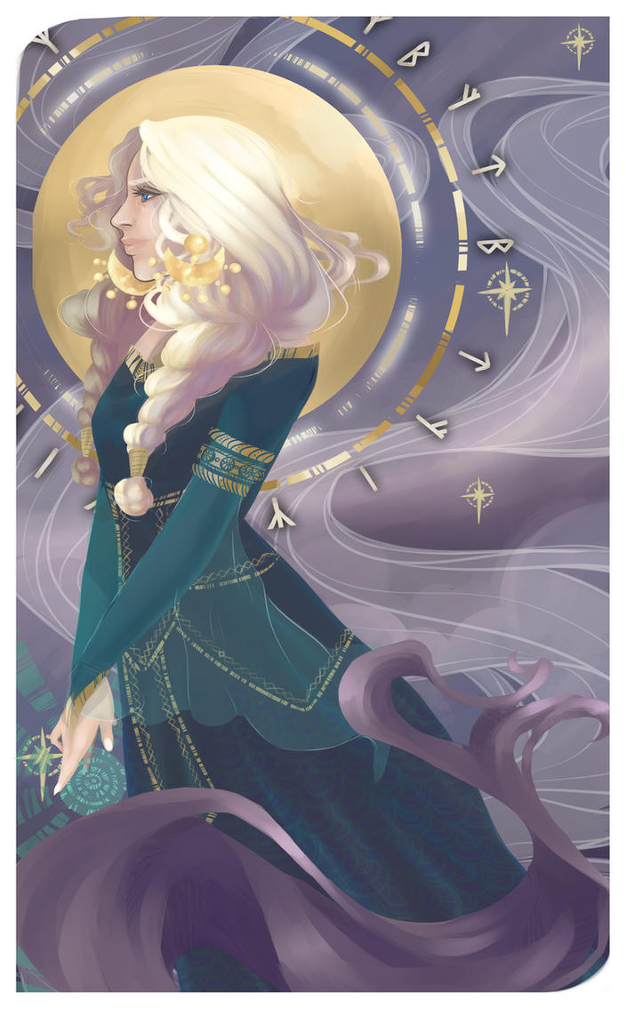 Allura Vysoren - The Arcanist- by LissyRaine