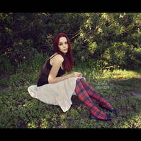 In the garden. by fae-photography