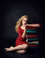 Bookworm by fae-photography