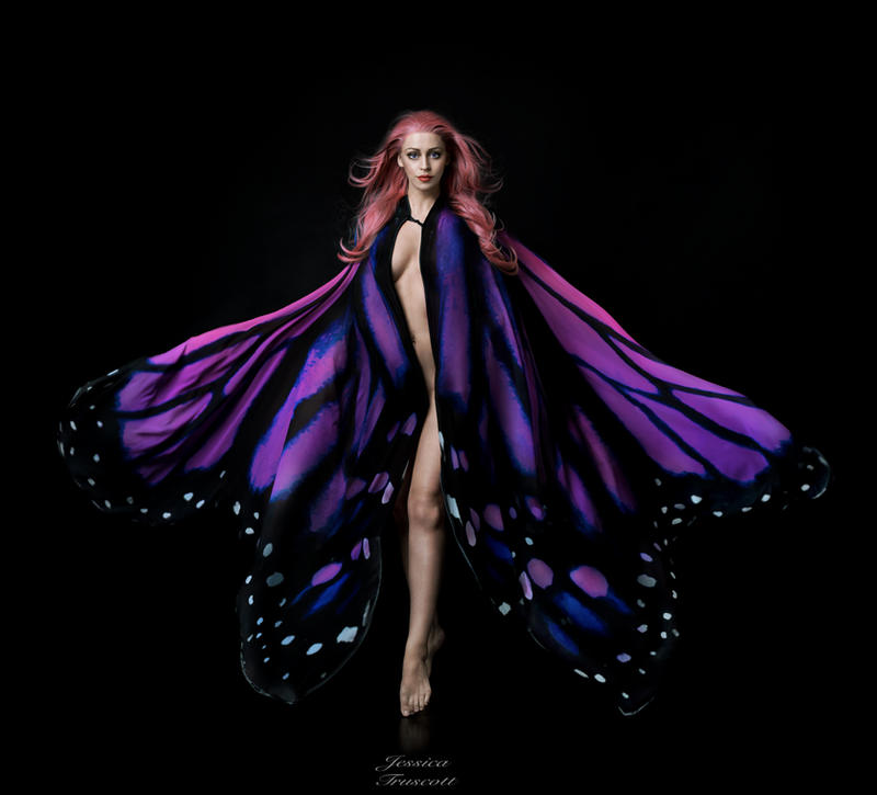 Papillon - The Dark Faerie by fae-photography