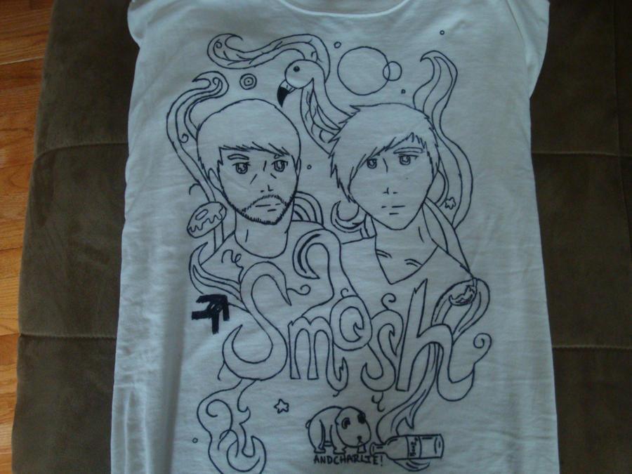 Homemade Smosh T-Shirt by sapphiresoul123