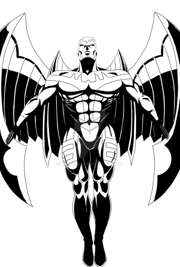 Archangel (X-Men) by Tiemsiro