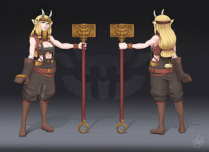 SMITH-GOAT (character design)