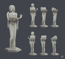 Statue (concept sheet)