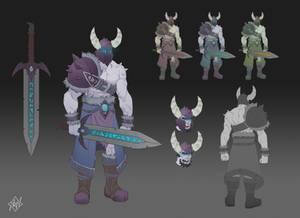 Barbarian (Concept Sheet)