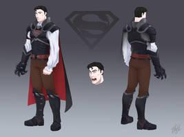 Dracula Superman (commission)