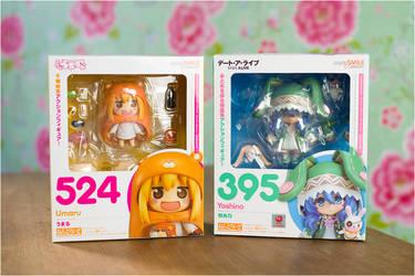 Nendoroids Umaru And Yoshino by Expose42