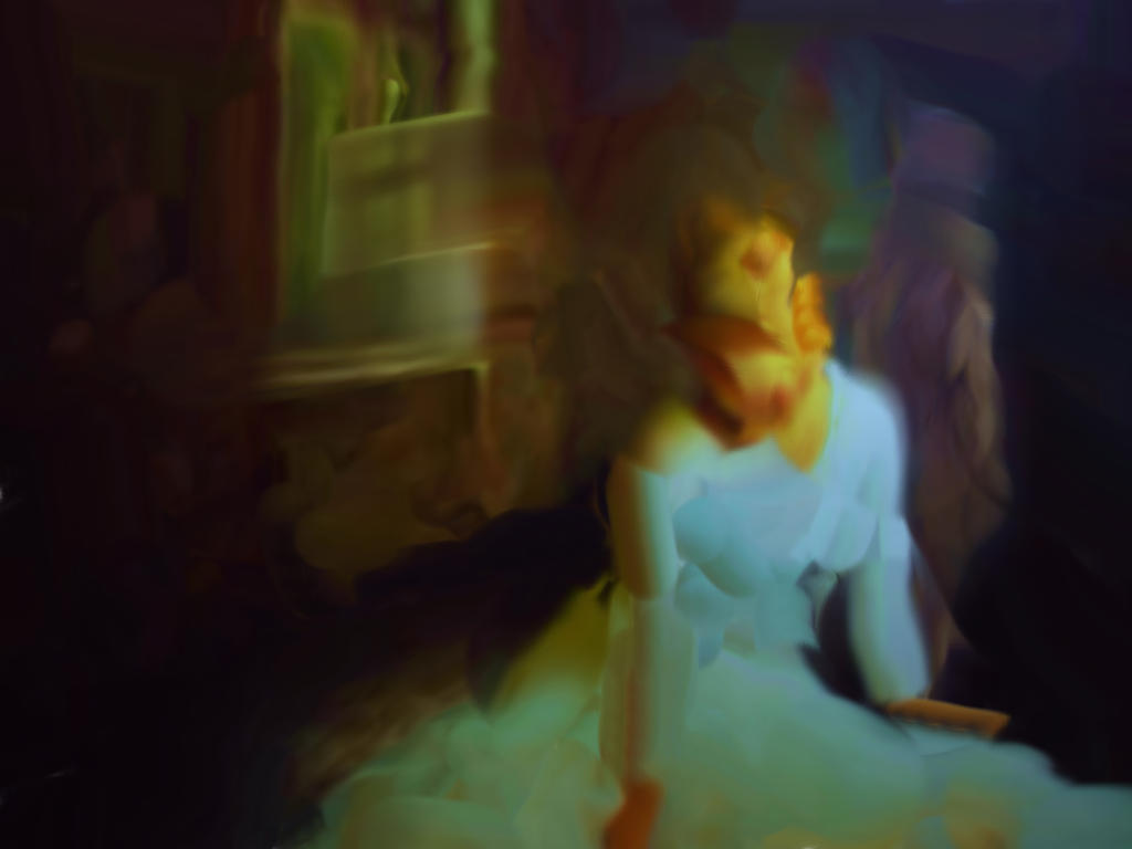 Woman W Broken Mirror 35 by rusrick