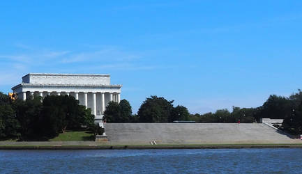 Lincoln Memorial-from Potomac