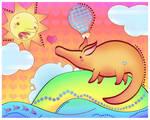 aardvark -old- by Miss-Glitter