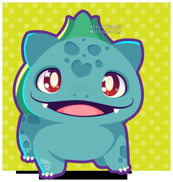 001 Bulbasaur by Miss-Glitter