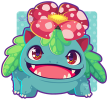 003 Venusaur by Miss-Glitter