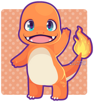 004 Charmander by Miss-Glitter