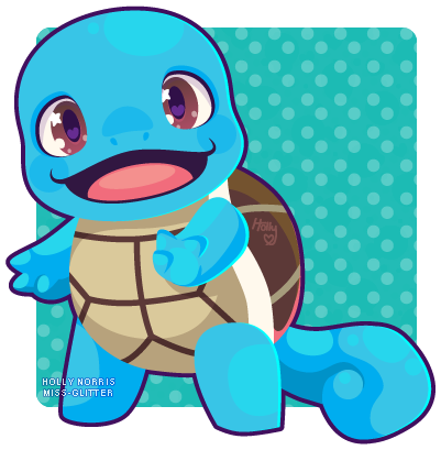 007 Squirtle by Miss-Glitter