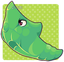 011 Metapod by Miss-Glitter