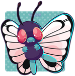 012 Butterfree by Miss-Glitter