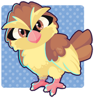 016 Pidgey by Miss-Glitter