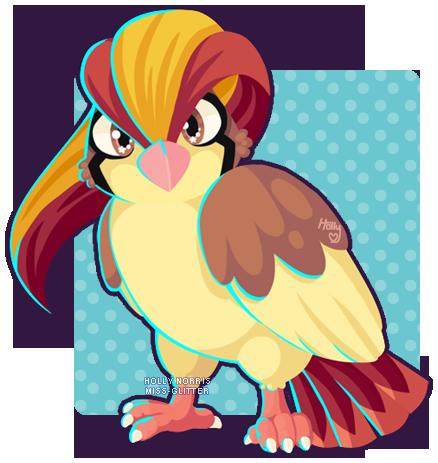 018 Pidgeot by Miss-Glitter