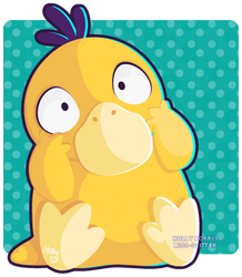 054 Psyduck by Miss-Glitter