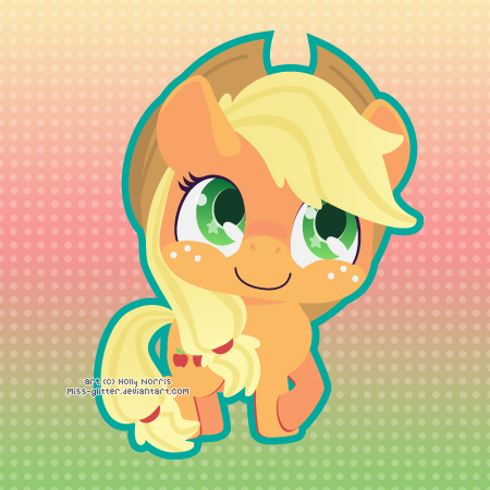 Applejack by Miss-Glitter