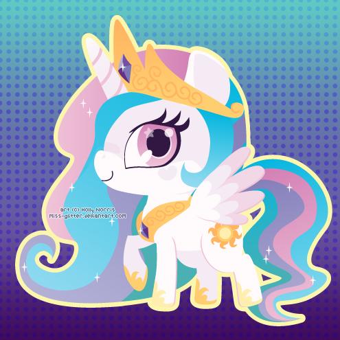 Princess Celestia by Miss-Glitter