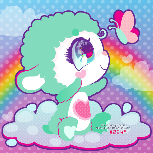 Gentle Heart Lamb by Miss-Glitter