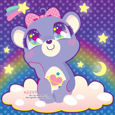 Daydream Bear by Miss-Glitter